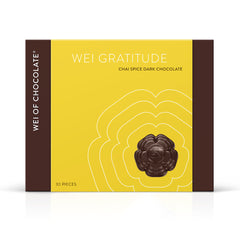 Wei Gratitude Chai Organic Vegan Dark Chocolate by Wei of Chocolate 68% cacao