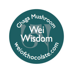 Wei Wisdom Chaga Mushroom Dark Chocolate - 50pc bag