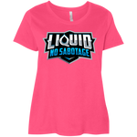 3804 LAT Ladies' Curvy T-Shirt - Liquid Hydration Store
