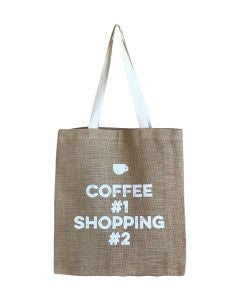 Casual Shopper - Coffee Addict- White