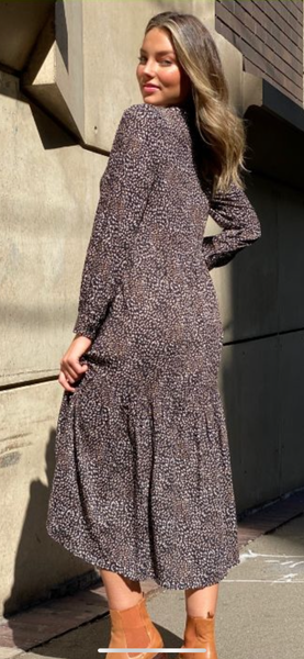 Black Speckle Dress