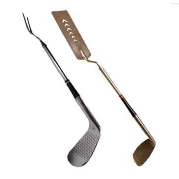 Golf Club Grille Combo: Fork and Spatula - Another Rinse