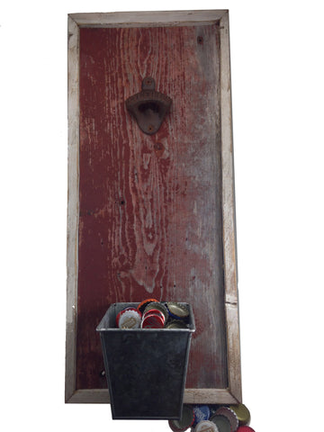 Reclaimed Wood Wall Bottle Opener (Barn) - Another Rinse