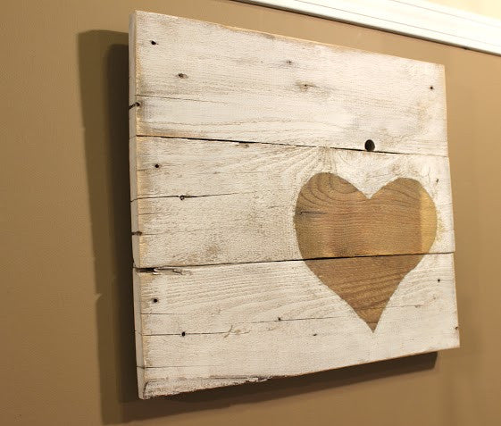 Reclaimed Wood Wall Art   Another Rinse