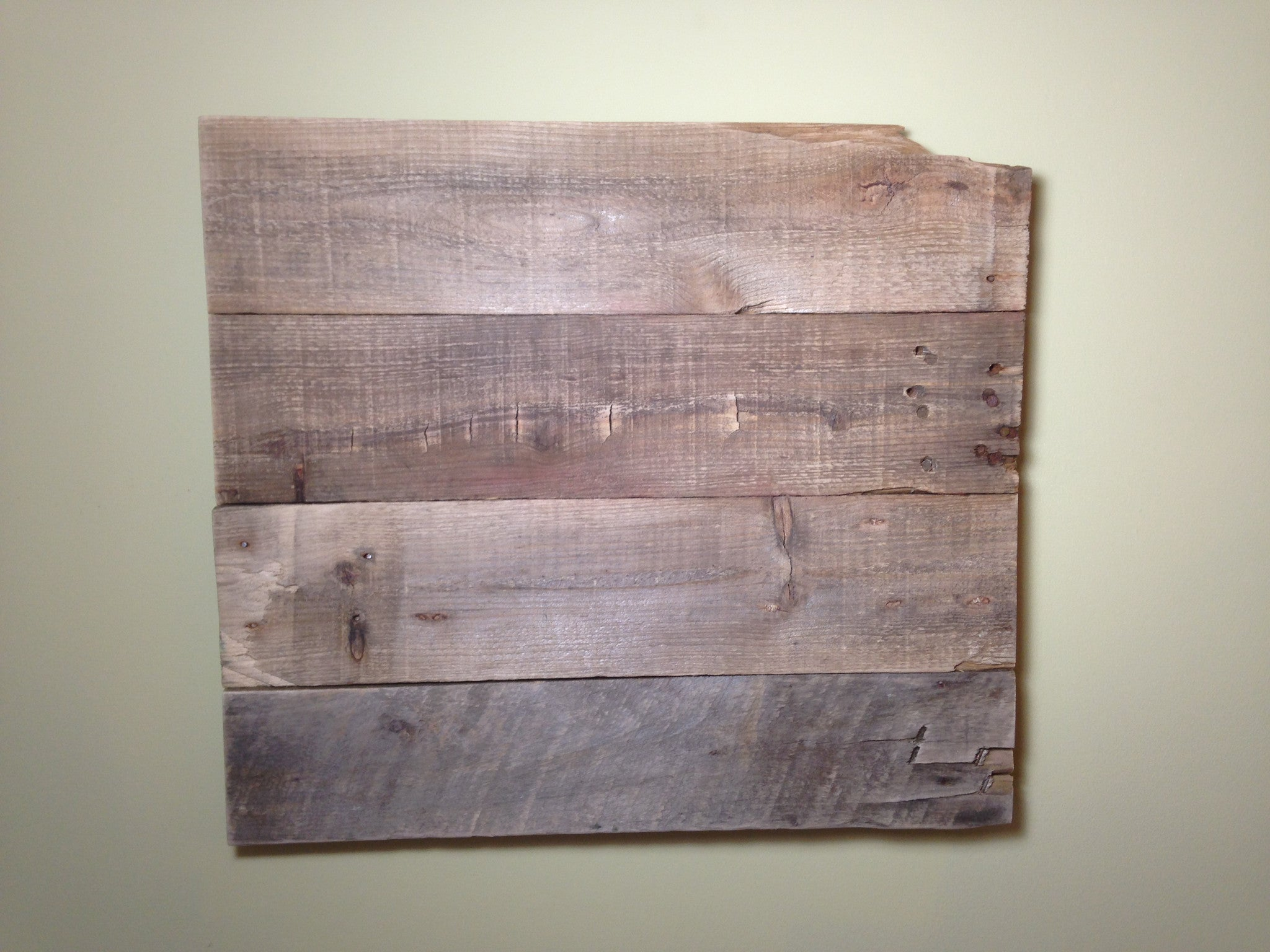 Reclaimed Wood Wall Art - Design It Yourself - Another Rinse