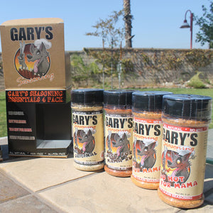 GARY'S SEASONING ESSENTIALS 4 PACK