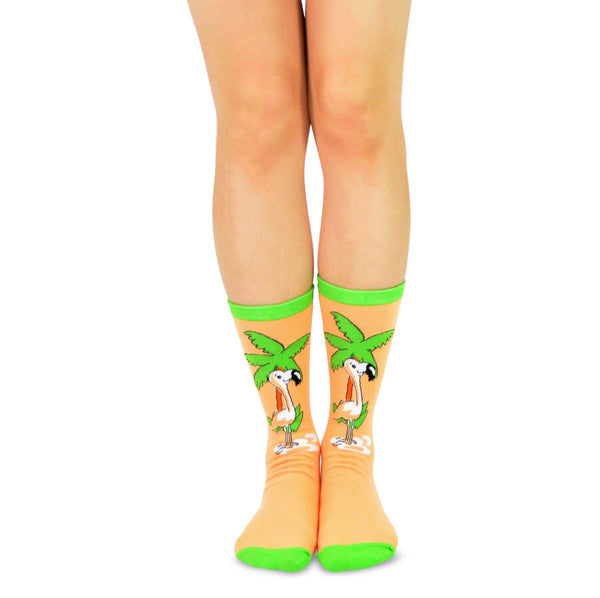 Tarzanimals Fun Silly Colorful Cartoon Animal Safari Jane Tarzan Crew Socks
