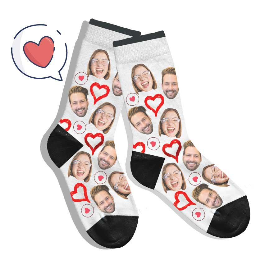 DoodleUS - Custom Face Socks