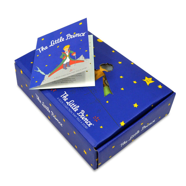 The Little Prince Classic Book Kids Novelty Crew Socks With Gift Box