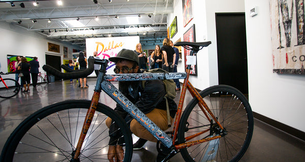 Artist Spotlight - Joonbug and his Dallas Kaufee Bike