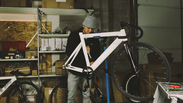 City Bicycle Co. Tokyo Type 2 fixed gear bike buildup