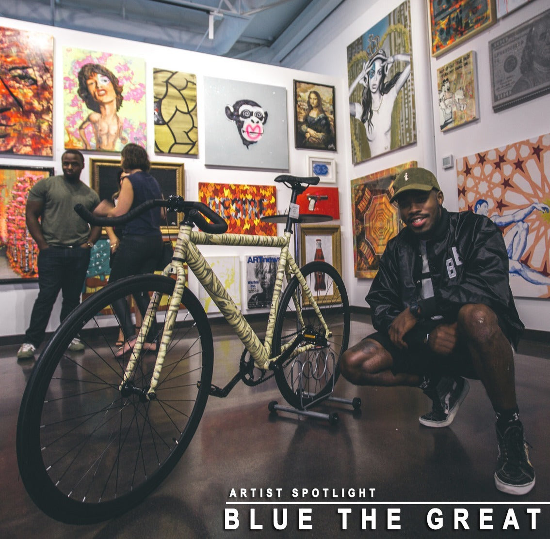 BluetheGreat Kendrick Lamar Cop Car Artist Mummy Bike