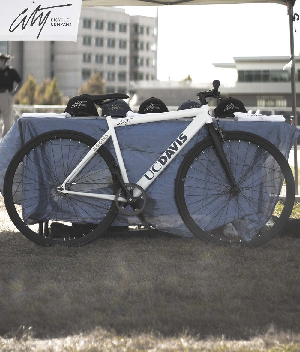 UC Davis Licensed Bike 500th Aggies Win