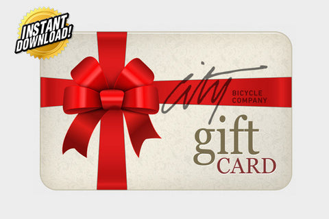 City Bicycle Co. Digital Gift Card