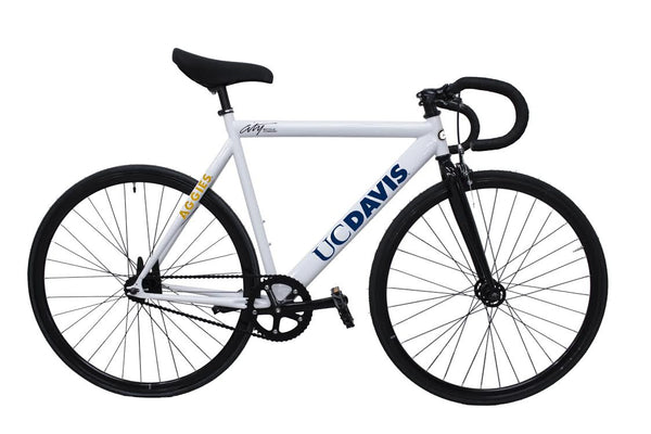 UC Davis Type001 white with drop bars