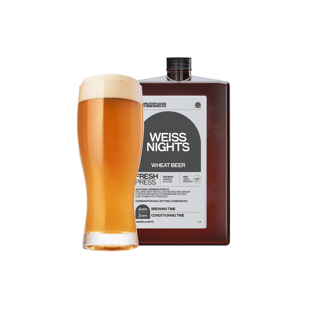 Beer of the Month: Weiss Nights Wheat Beer