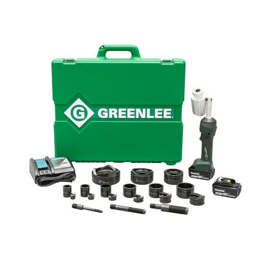 "Greenlee LS100X11SB4X INTELLIPUNCH 11-Ton Set, SB 1/2"" - 3"" y 4"""