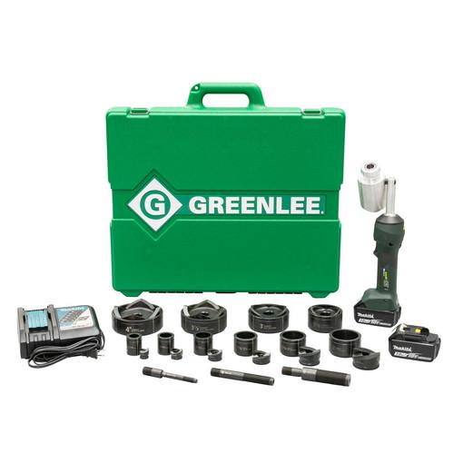 "Greenlee LS100X11SB4 INTELLIPUNCH 11-Ton Conjunto, SB 1/2"" - 4"""