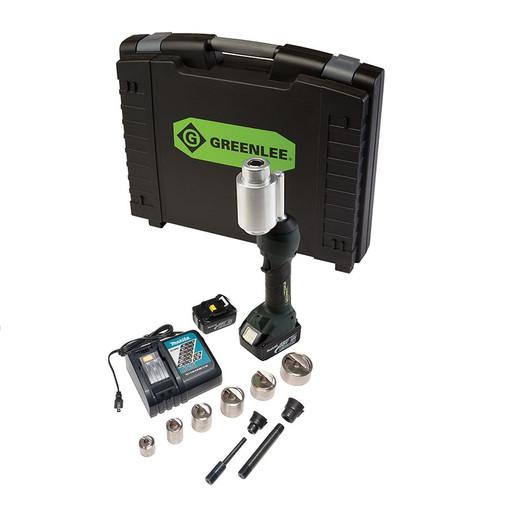 "Greenlee LS100X11SBSP INTELLIPUNCH 11-Ton Conjunto, SBSP 1/2 ""-2"""