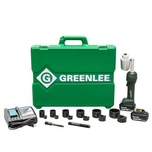 "Greenlee LS100X11SB INTELLIPUNCH 11-Ton Conjunto, SB 1/2"" - 2"""
