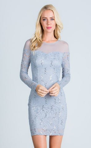 Amanda Sequin Dress