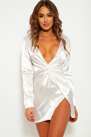 Jodi Satin Dress