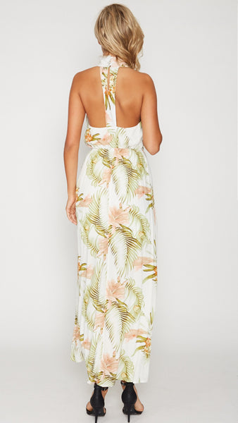 April Halter Dress