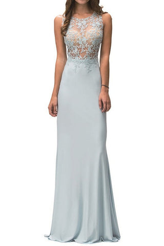 Lydia Beaded Floor Length Dress