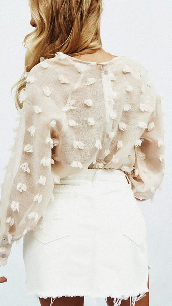 Charlotte Frayed Top