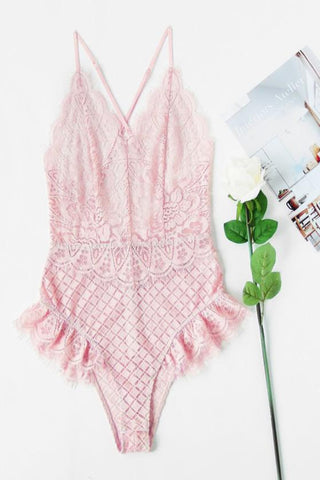 Candy Lace Bodysuit