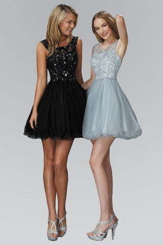 Carla Sequin Prom Dress
