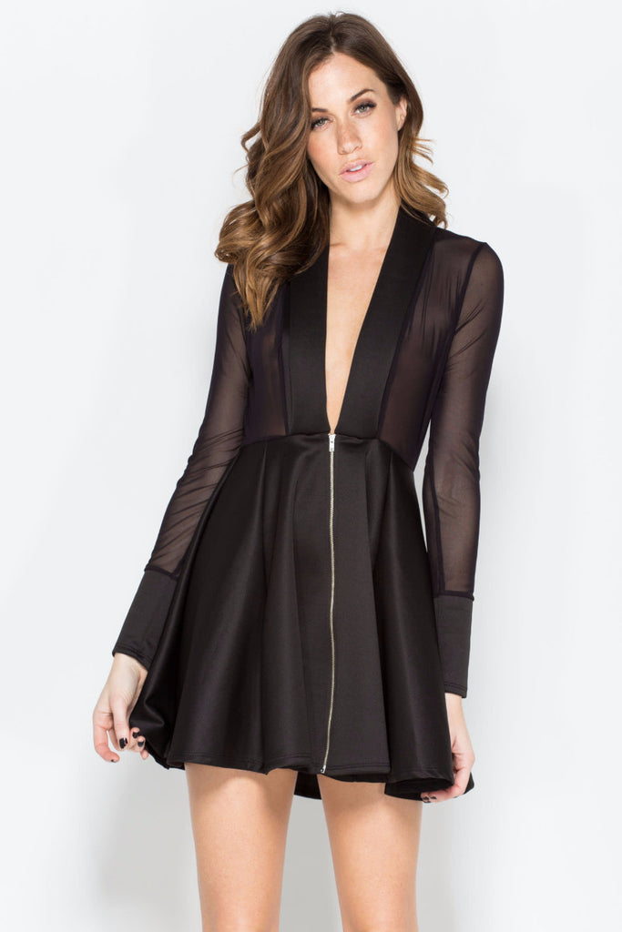 Maddie mesh Dress