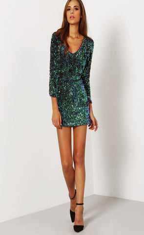 Donna Sequin Dress