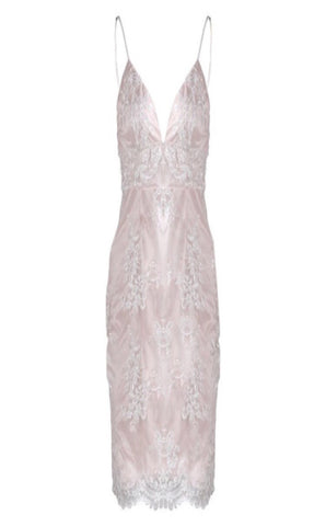 Marlaa Sequin Lace Dress