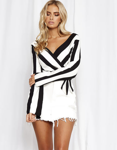 Hollie Stripe Top