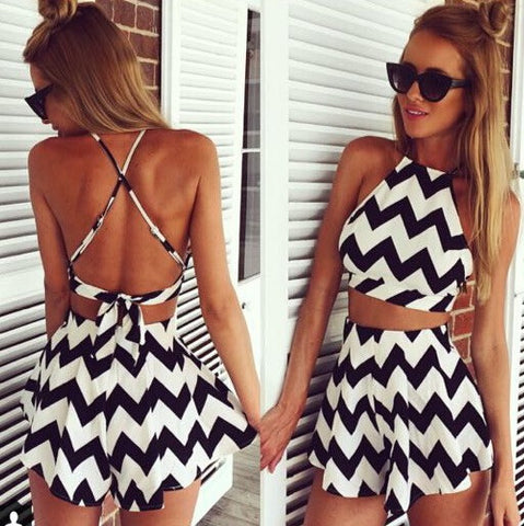 Loz monochrome 2 piece