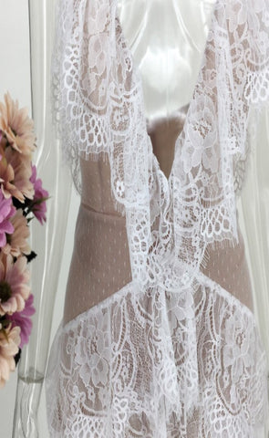 Bonita Lace Playsuit