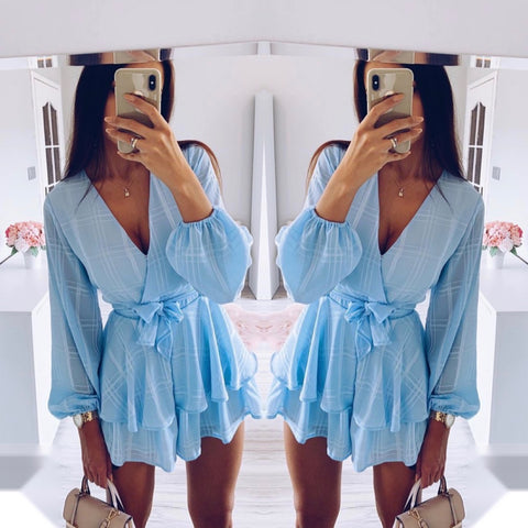 Milly Blue Playsuit
