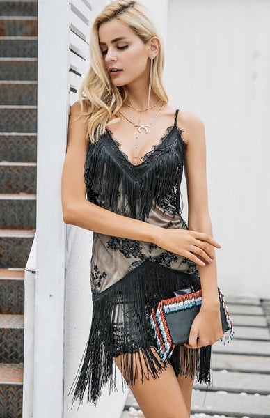 Tabitha Fringe Dress
