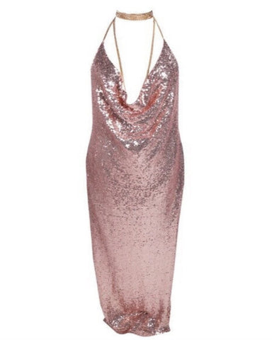 Chloe Sequin Dress
