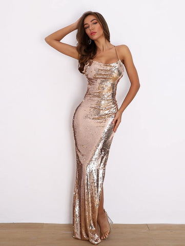 Brittany Sequin Dress