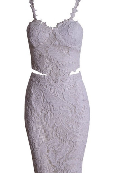 Francine  2 piece lace dress