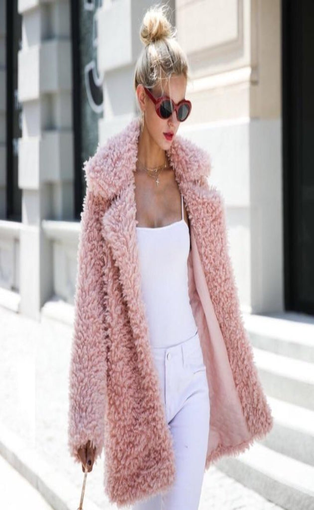 Charisma Faux Fur Teddy Coat