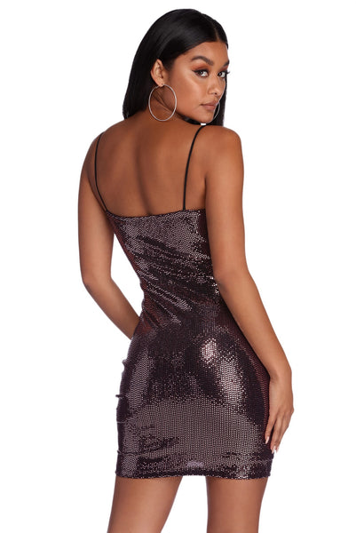 Marissa Sequin Dress