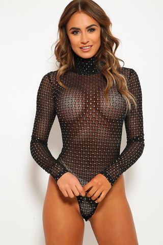 Mesh With Me Bodysuit
