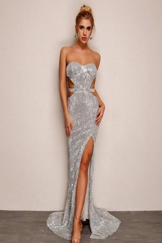 Christina Sequin Dress
