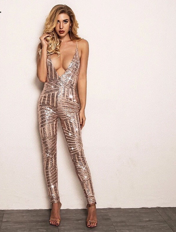 Kim Sequin Jumpsuit