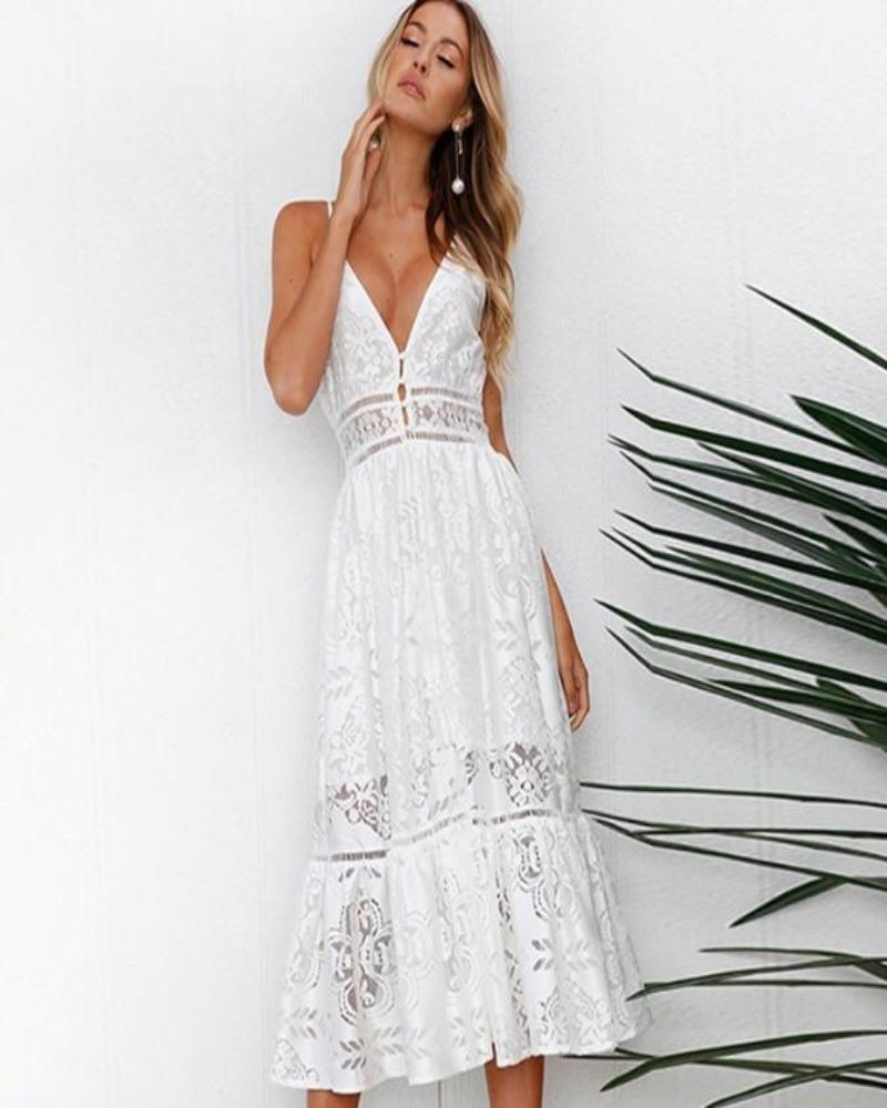Charlie Lace Maxi Dress