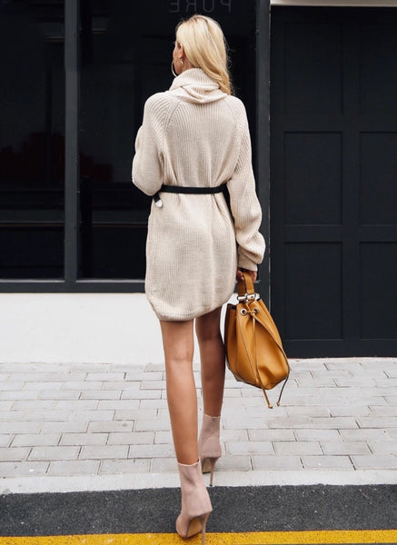 Jodie Beige Dress