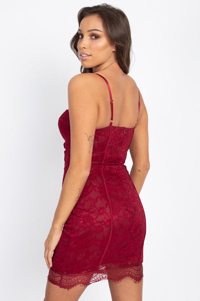 Roxanne Red Bodycon